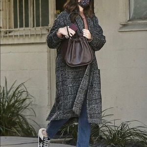 Ann Taylor • Longline Tweed Knit Cardigan